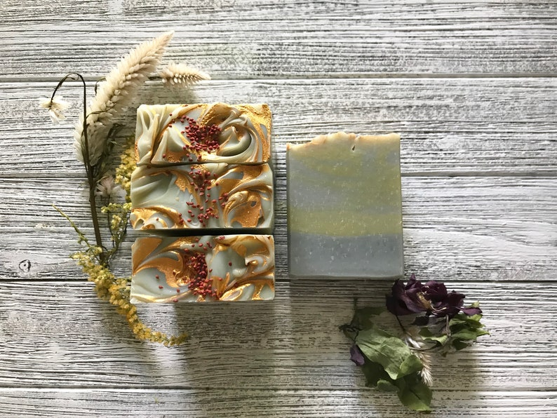 Apple Sage Vegan Bar Soap image 0