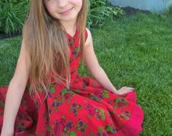 VFT Kennedy Dress In Polish Folk Fabric