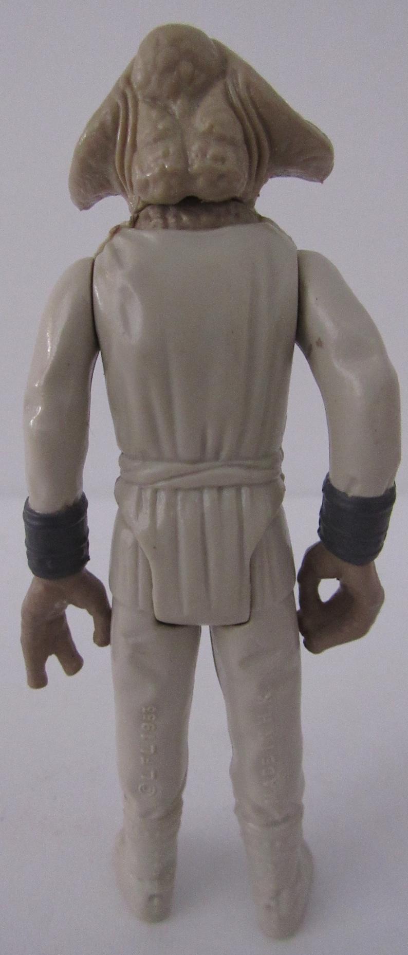 1983 Squid Head Star Wars Kenner Hong Kong Action Figure ROTJ Very Good Vintage