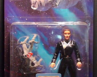 1997 WB Toys Babylon 5 Susan Ivanova Action Figure New In Package