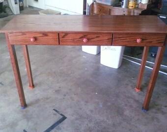 Oak Entry way table
