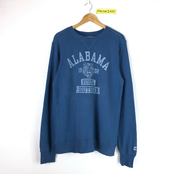 Rare!!Vintage Alabama Russell Southern Sweatshirt