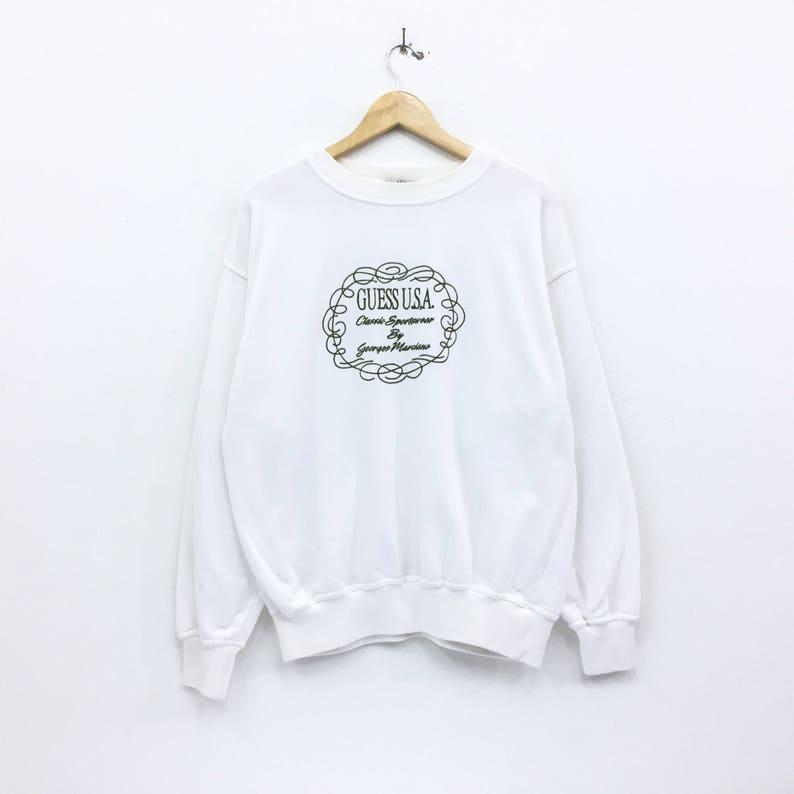 fb19db0ea0a6 RareVintage Guess USA Sweatshirt georges Marciano Original | Etsy