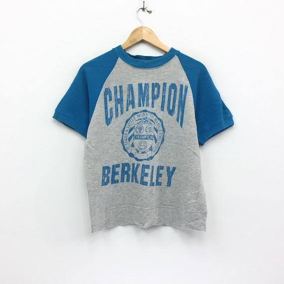Rare!!! Vintage 70's Champion Sweatshirt Big Logo