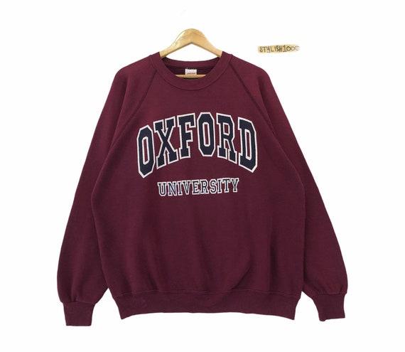 Rare!! Vintage Oxford University Sweatshirt Biglog