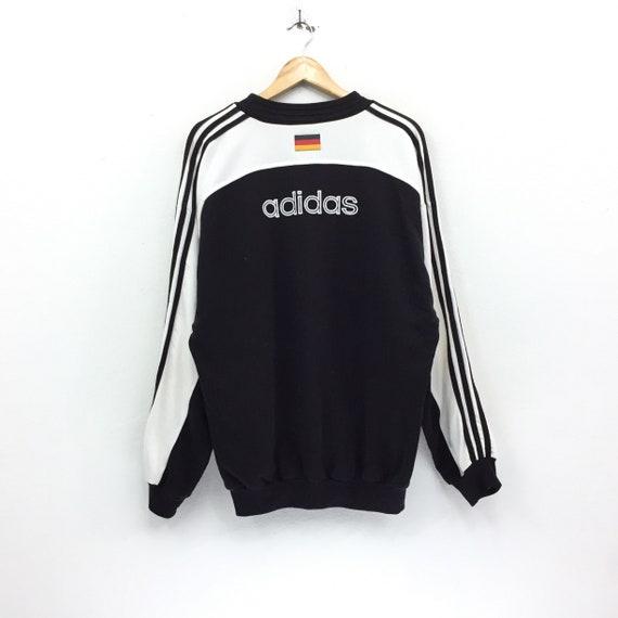 Adidas Sportwear Germany Swag Stripes Fifa World Vintage Sweatshirt FXnqq8Bw