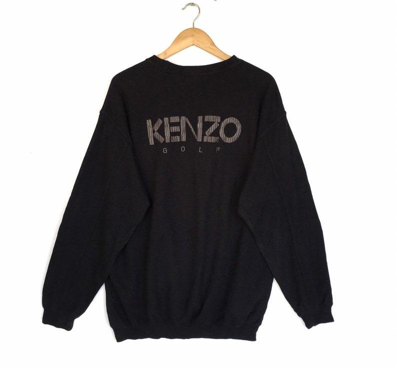 764eb5cca RareVintage Kenzo Golf Sweatshirt Biglogo Spellout   Etsy
