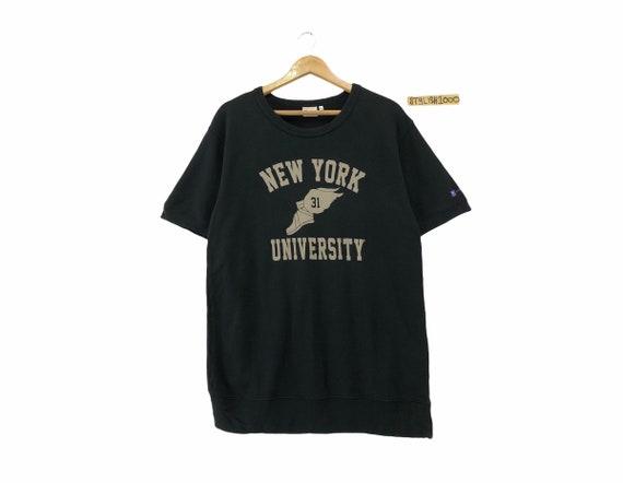 Rare!!! University New York Tshirt Big Logo Univer