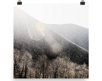 blue ridge mountains landscape print | nature photography