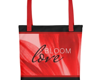 bloom love floral tote bag series 2 blueberry  7b2eaa0c74a6d