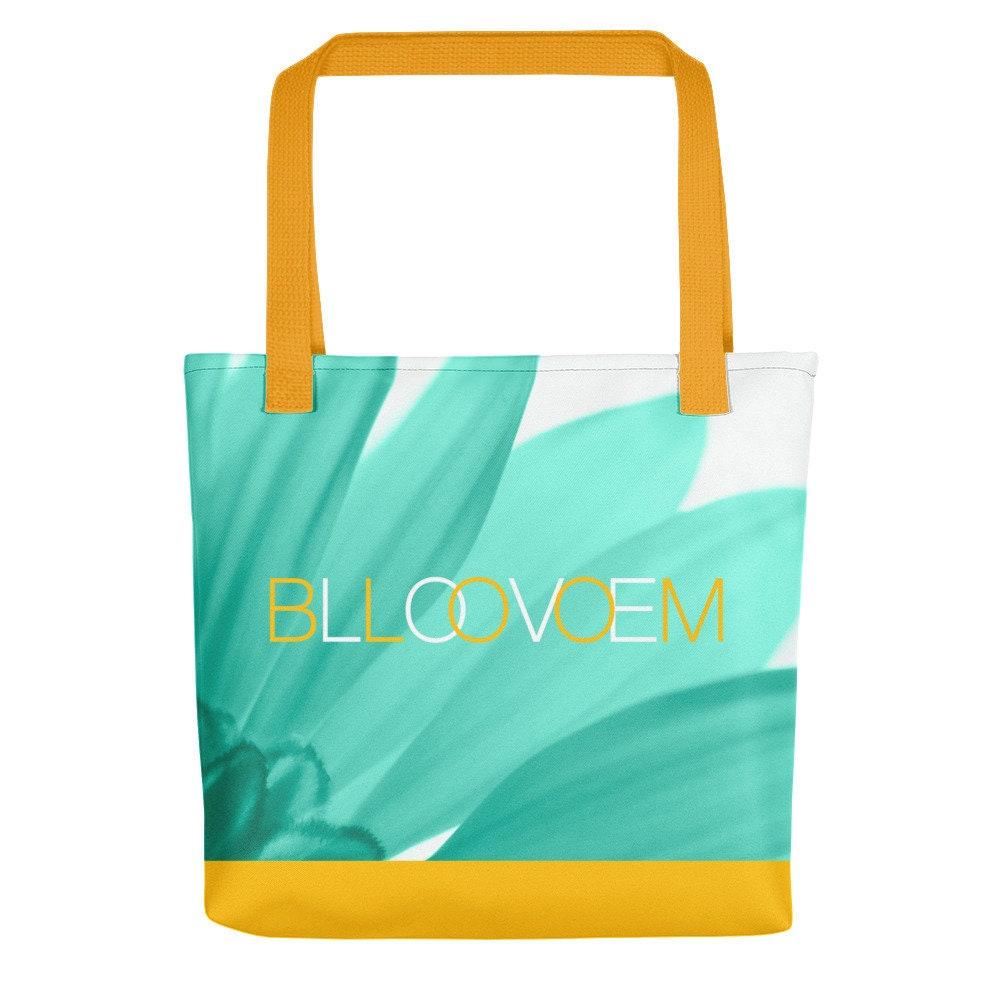 bloom love floral tote bag  06fba28f71d98