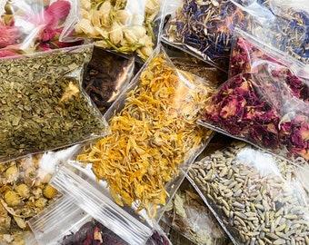 Dried Herbs, Dried Flowers, Organic Herbs