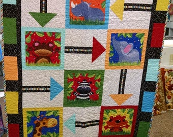 Follow the Leader Childrens Quilt