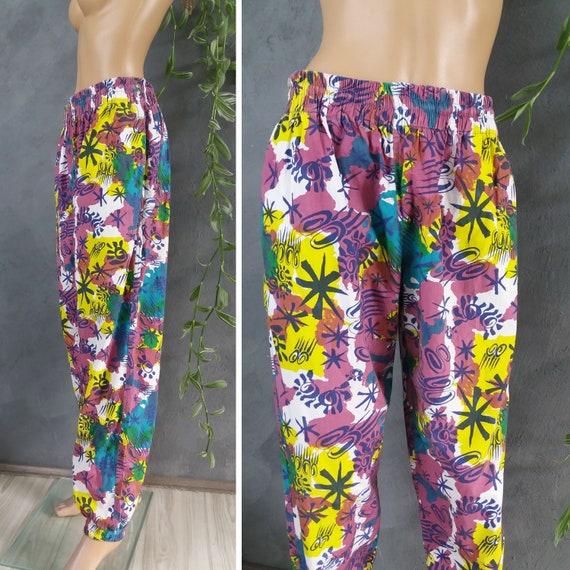 Vintage Rodeo Printed Trouser Pants 1990s Unisex … - image 5