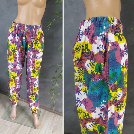 Vintage Rodeo Printed Trouser Pants 1990s Unisex … - image 1