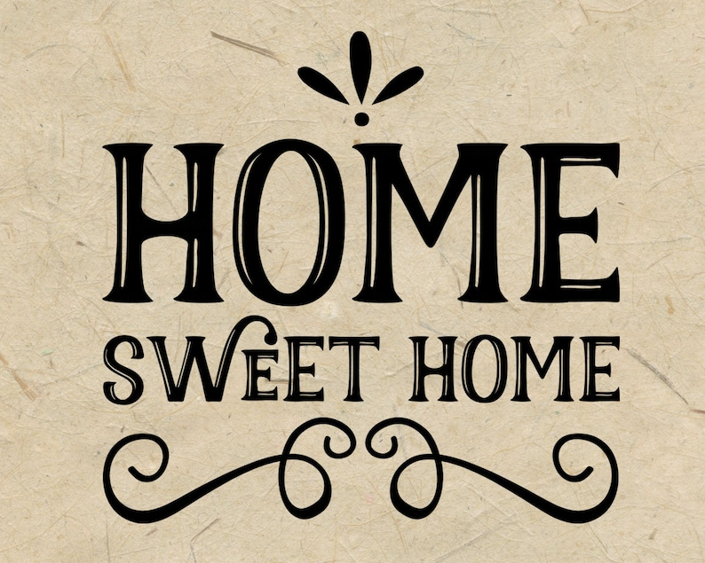 Home Sweet Home Svg Cut File Home Sign Farmhouse Svg Family Etsy
