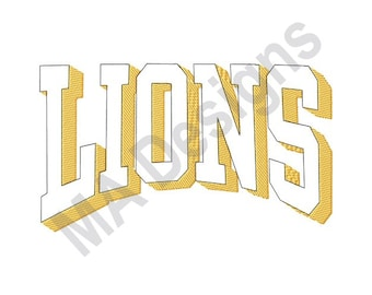Lions - Machine Embroidery Design