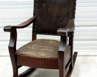 Stupendous Antique Rocking Chair Etsy Forskolin Free Trial Chair Design Images Forskolin Free Trialorg