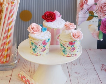 Fake Cupcake.Home decor.Fake food, display cakes   ,Faux Cupcake,Kitchen Decor,Gift for her, food prop,decoden food,kitchen decor
