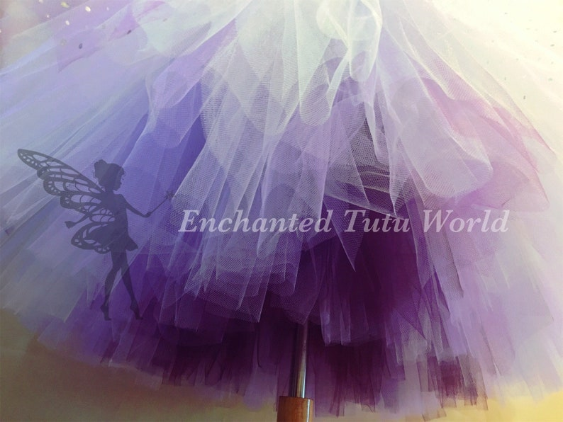 Purple flower girl tutu dress,flower tutu dress,lavender tutu dress,ivory tutu dress,ombr\u00e9 flower dress,flower girl tutu dress,plum tutu