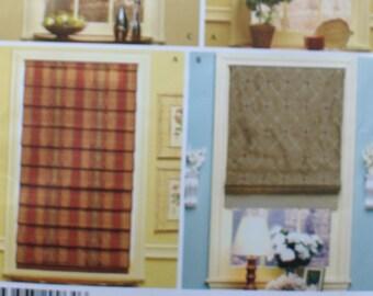 Drape pattern - curtain pattern - blind pattern - Christopher Lowell Collection - Simplicity Pattern 4105 - Vintage pattern