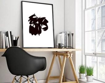 home wall art black white wall art download print black wall art instant download printable art black wall decor digital print