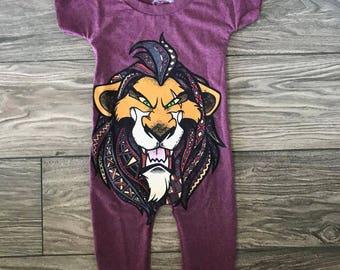 Lion King Scar Romper size 2T