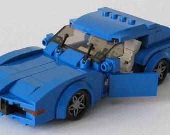 lego city custom  series huey rescue helicopter etsy