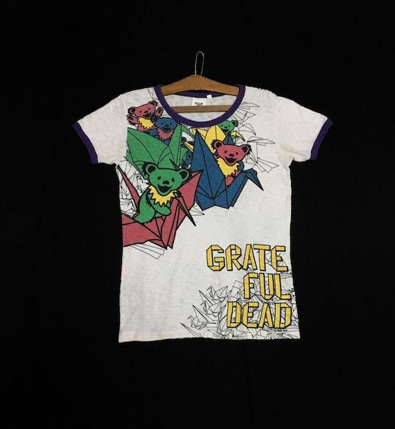 Rare! Grateful Dead Band Over Print Full Print Rin