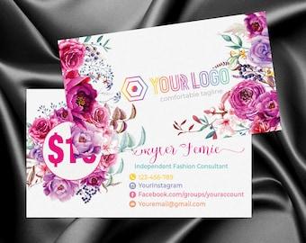 Marketing kit,Custom Roeing in the wild, Flower Rose Boho, Branding kit, Branding, Marketing for Consultant | MKRI_17