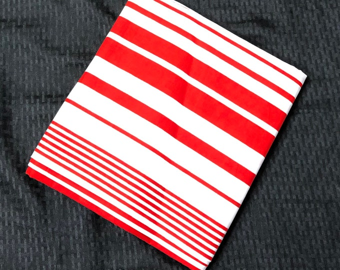 NK1 African fabric per yard white Red Ghana northern kente Wax print/ Ankara for Dress/ African cloth dolls/ African decor