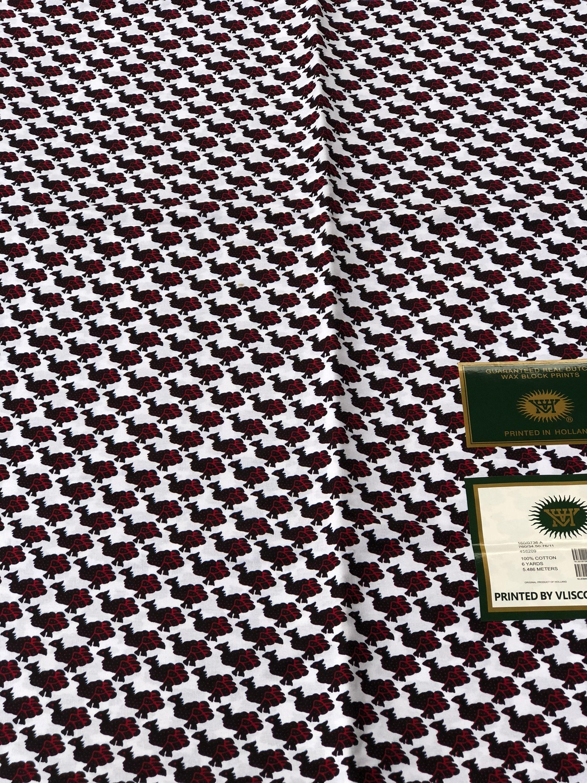 A6547 6 yards blanc tissu rose oiseau Design africain tissu blanc Wax africain Print / Ankara africaine matière / tissu fdb470