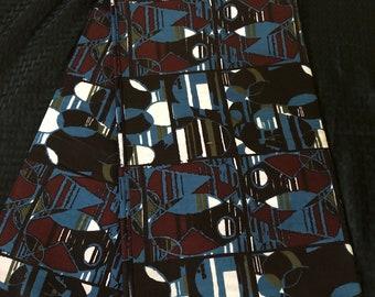 BBR14 african fabric yard green blue red green African Wax print/ Ankara for Sewing Dress/ art craft/ African home decor
