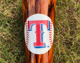 Wood grain baseball Stainless Steel Tumbler