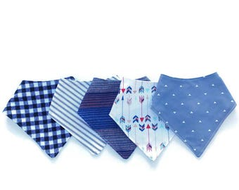 Gender Neutral Bandana Bibs