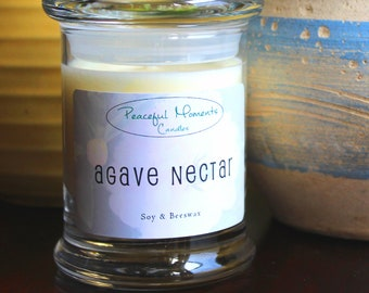 Agave Nectar - Soy & Beeswax Candle