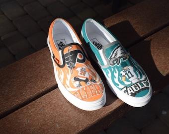51912b24d3d6a Eagles shoes | Etsy