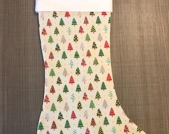 Mini Christmas Tree Stocking