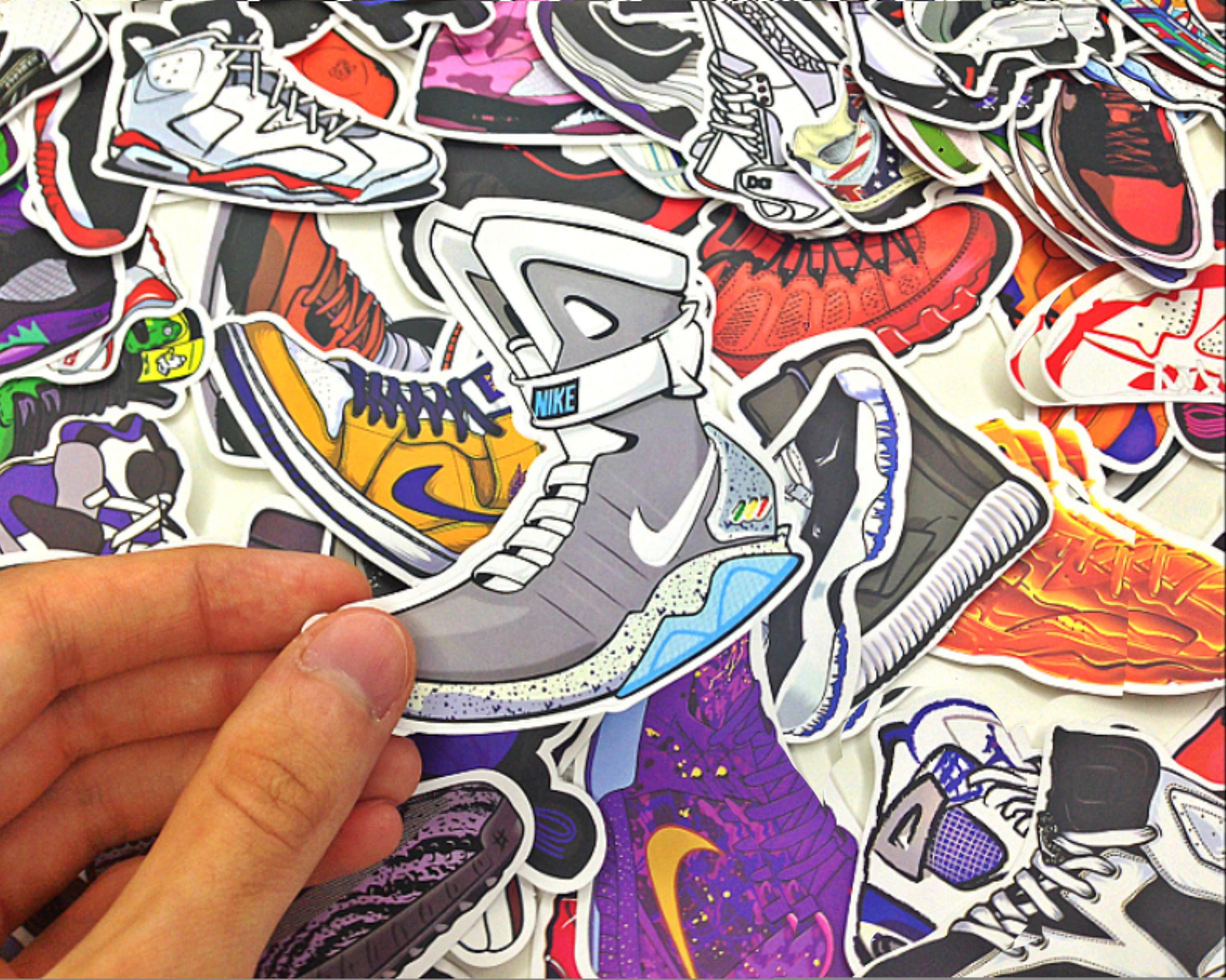Sticker bombing sticker pack bright hypebeast stickers