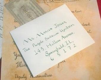 Hogwarts acceptance letter | Etsy