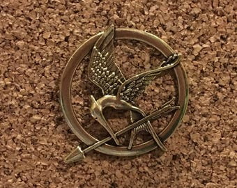 Hunger Games Mockingjay Metal Cosplay Pin