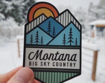 Montana Big Sky Country Wood Ornament