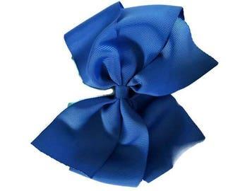 Big blue boutique bow xl boutique bow