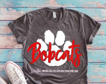 Bobcats Svg Etsy