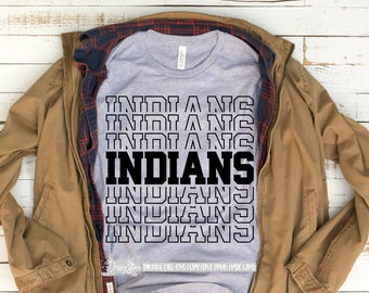 picture relating to Indians Schedule Printable known as Indians printable Etsy