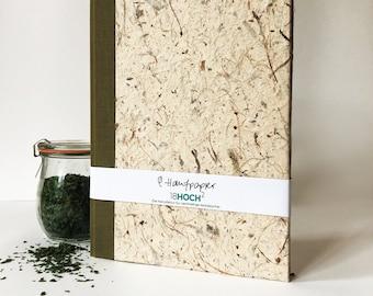 Hemp Paper Notebook, Diary & Journal Handmade