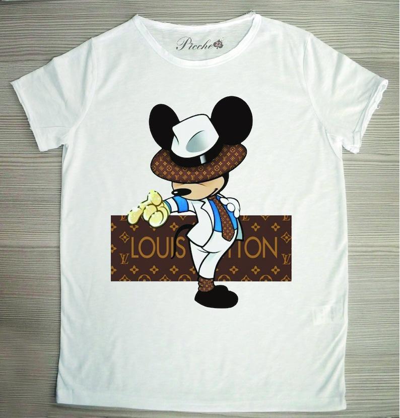 70f345cf3a2e Men s or Women s T-Shirt White Model  Louis