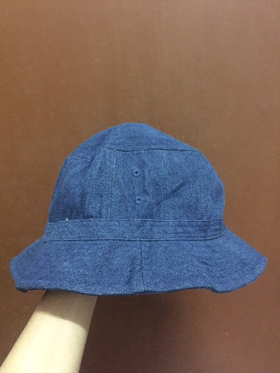 Denim Bucket Hat Japanese Medium Size