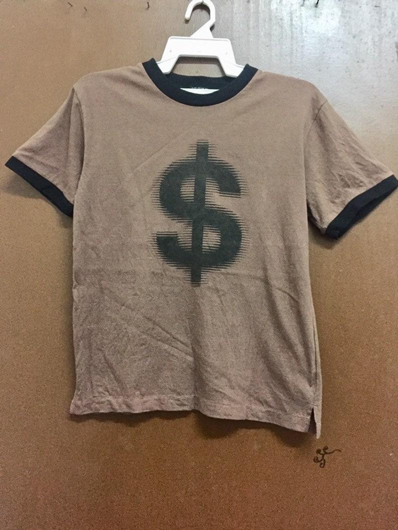 Vintage Milkboy Symbol Money Ringer \u201cMoney The Rule\u201d Short Sleeve Japanase Brand Seditionaries Tshirt