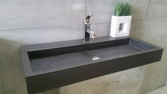 Lavabo in cemento